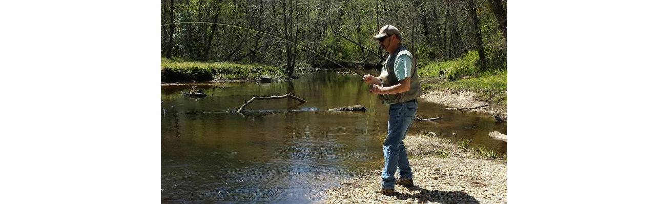 Fishing Mattawoman Creek